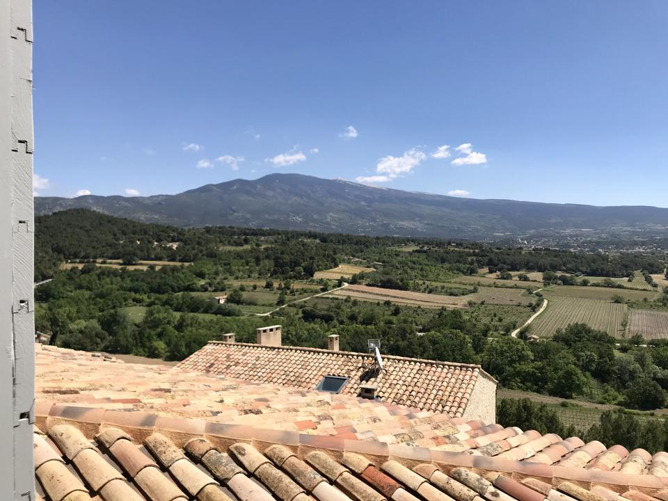 View over the Mont Ventoux
