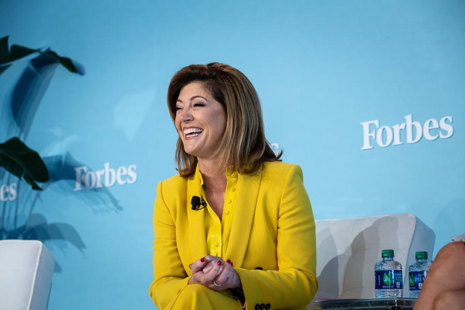 Norah O'Donnell at the 2019 Forbes Women's Summit.