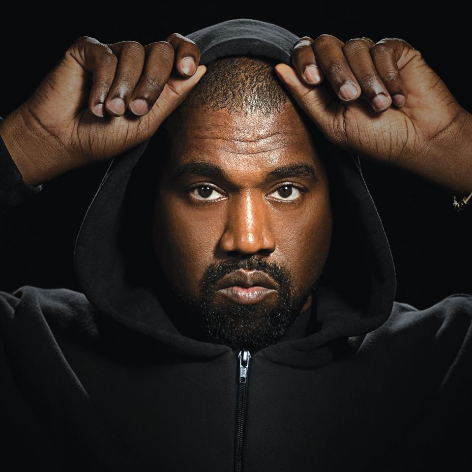 Kanye West is the third highest-earning celebrity, mostly from his Yeezy line with Adidas
