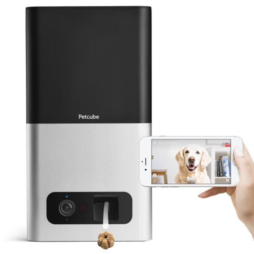 Petcube Bites Wi-Fi Pet Camera with Treat Dispenser