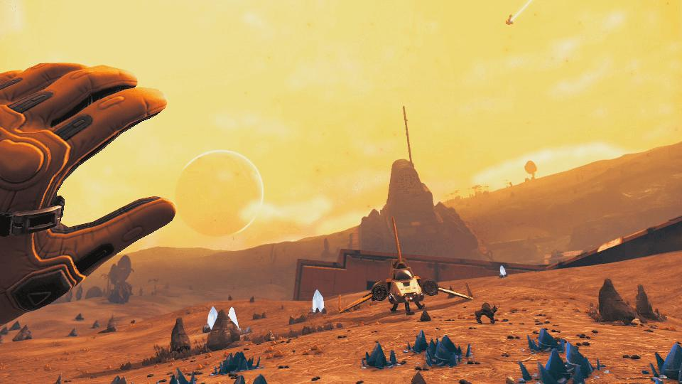 no mans sky beyond virtual reality vr hello-games sean murray release date window rating