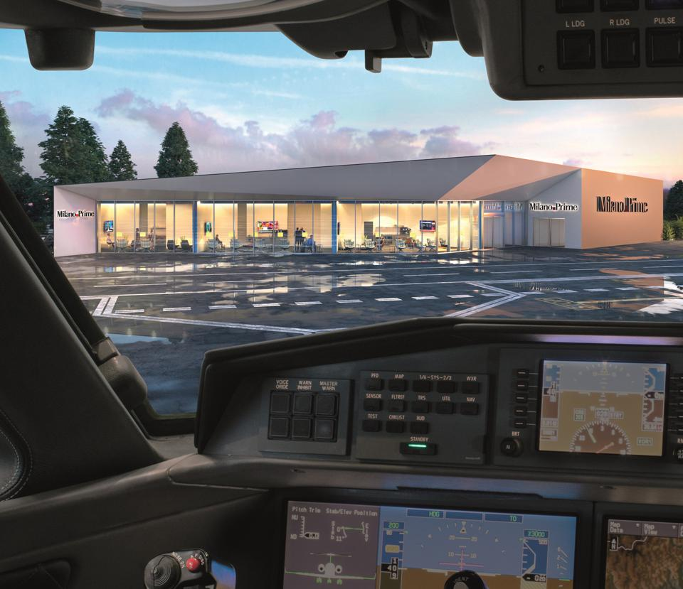 VIP terminal at Milan's Malpensa airport