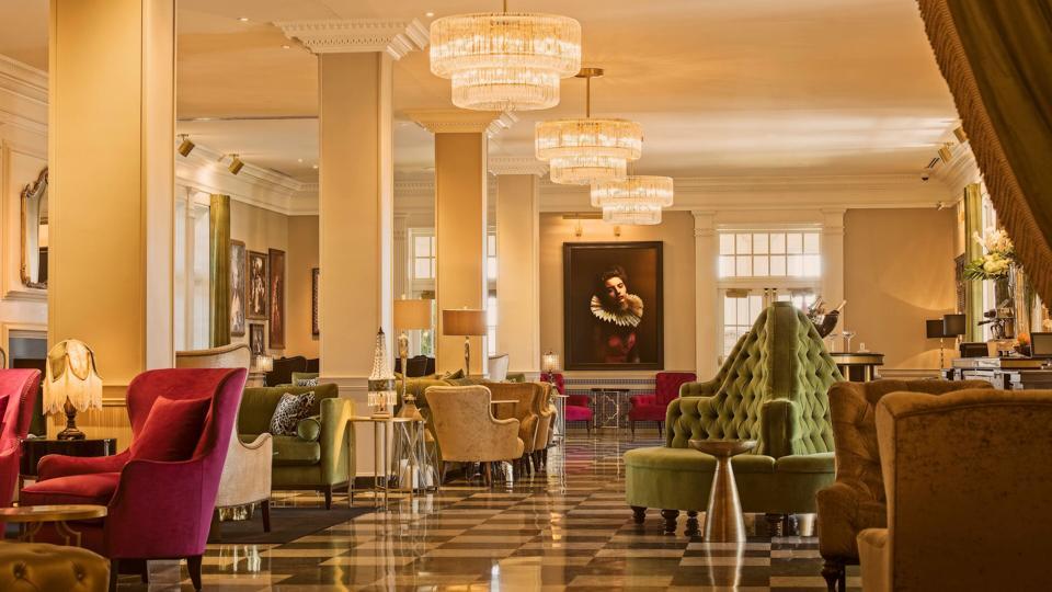 The Raleigh Room of The Cavalier Hotel in Virginia Beach