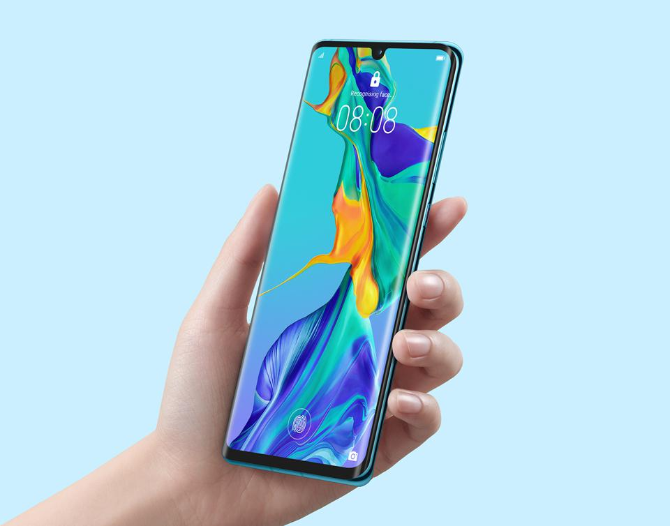 The latest phone from Huawei, the P30 Pro