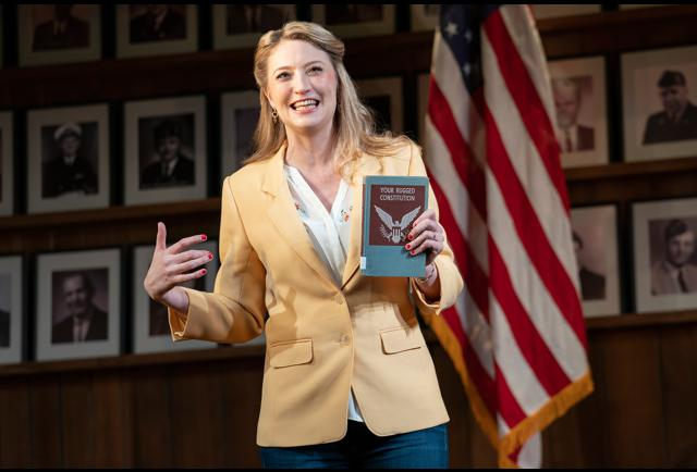 Amid Trump Turmoil, Political Broadway Hit 'What The Constitution Means To Me' Turns Profit