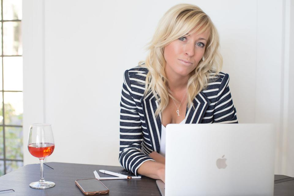 Angela Allison, founder & CEO Wine Society