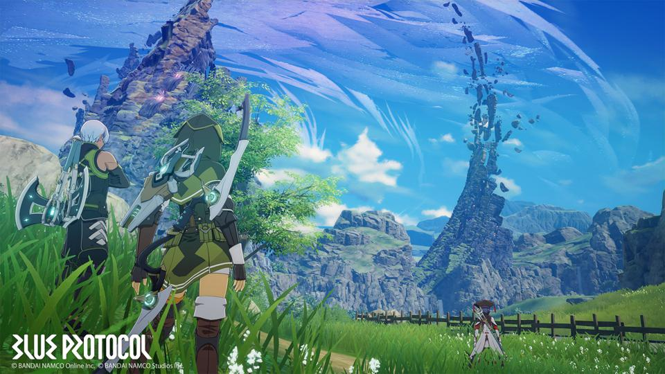 Best Mmorpg 2020 Pc.Blue Protocol Is A Gorgeous Online Action Rpg From Bandai