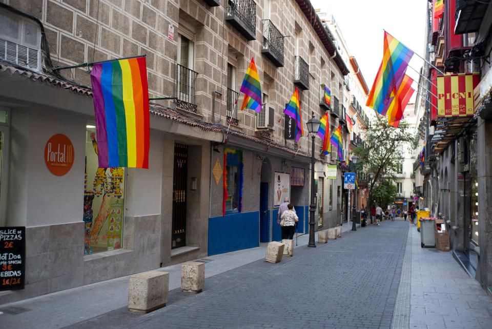 LGTB Pride Preparation In Madrid