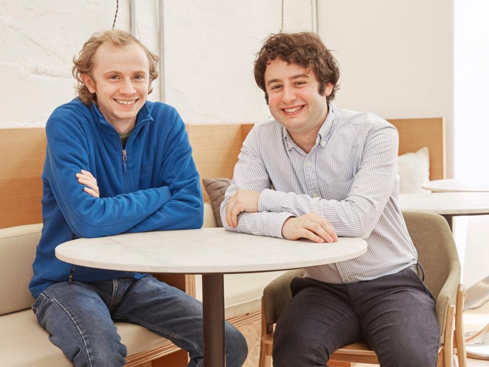 Figma cofounders Evan Wallace og Dylan Field