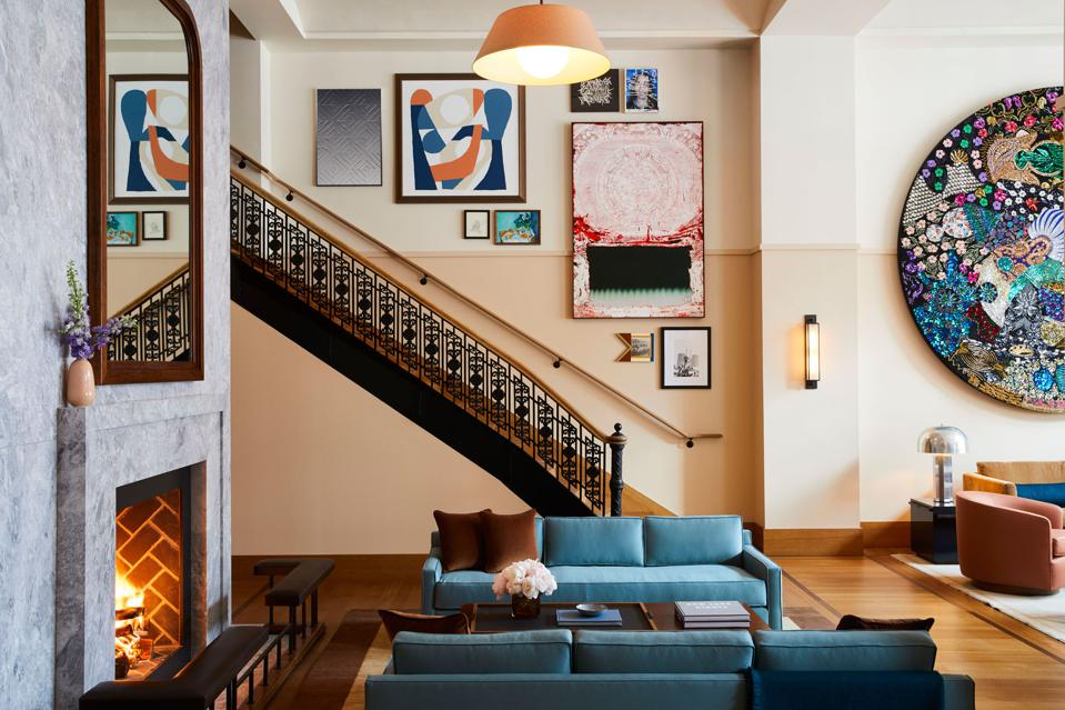 Shinola Hotel Detroit Living Room