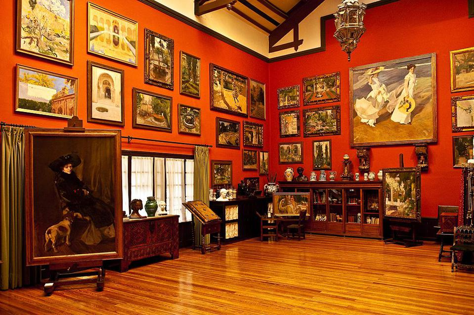 Sorolla Gallery and house, Madrid, Spain.