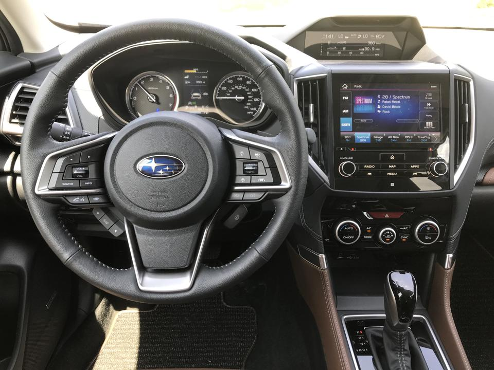 Interior 2019 Subaru Forester