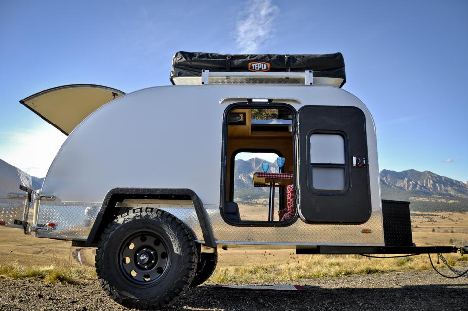Colorado Teardrop compact travel trailer