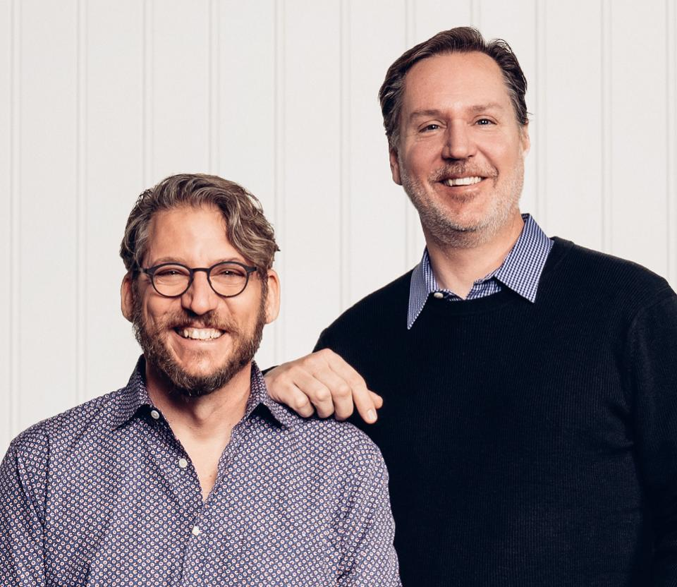 Looker CEO Frank Bien and CTO and founder Lloyd Tabb.