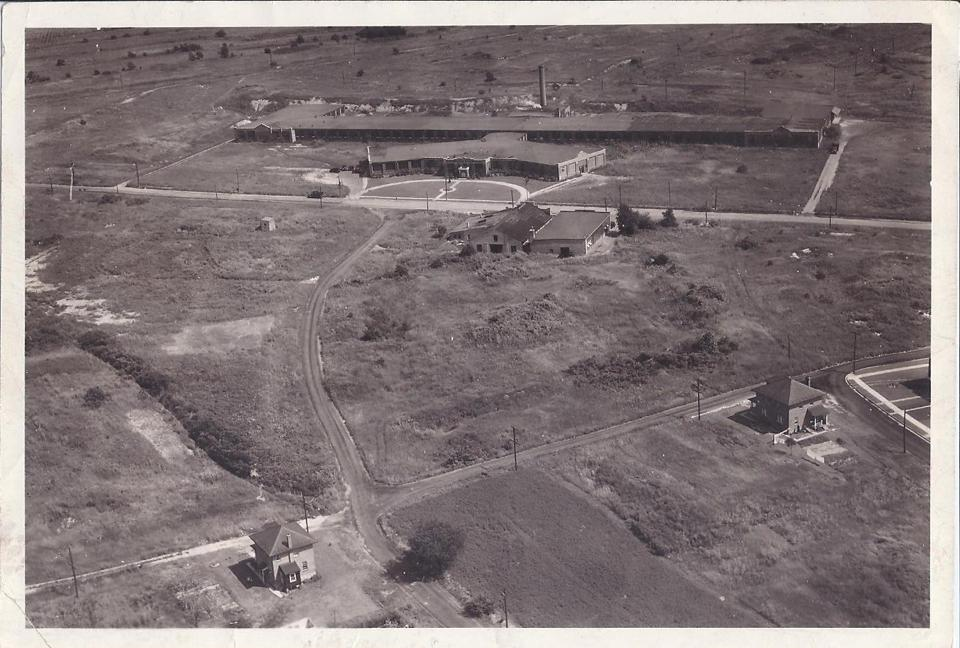 1930 Just Born aerial view