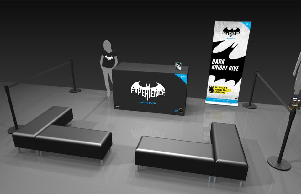 Check-in at the AT&T and DC Comics ″The Batman Experience″