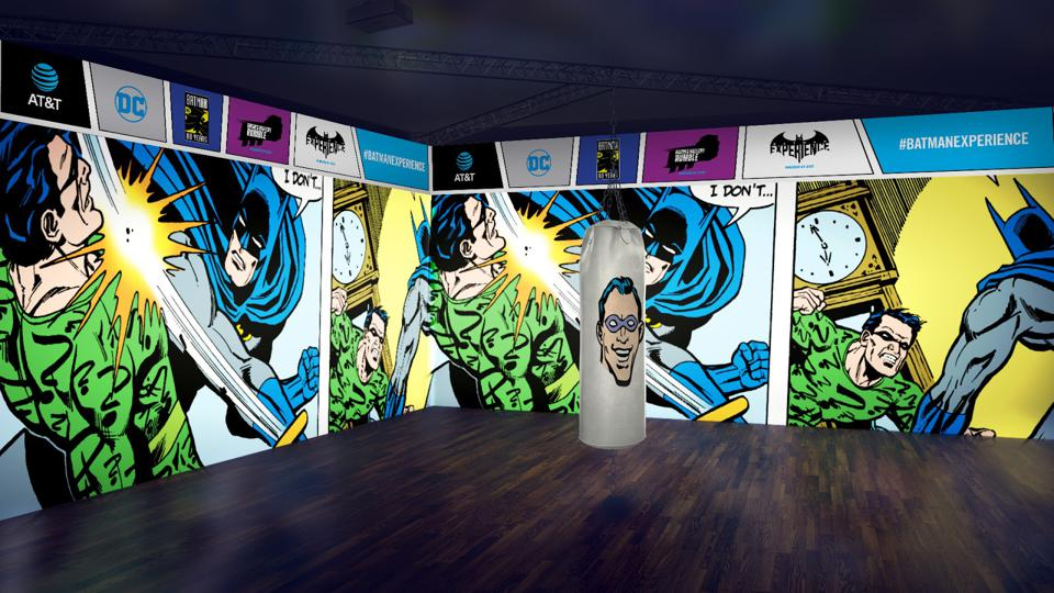 The ″Rogue Gallery Rumble″ at the AT&T and DC Comics ″The Batman Experience″