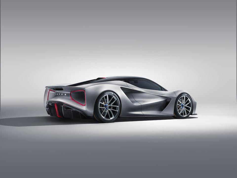 The Evija is the first fully electric hypercar by Lotus