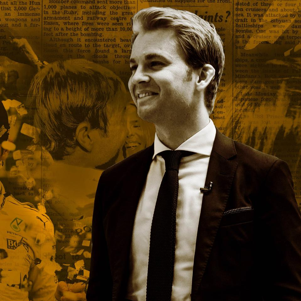 Retired F1 Driver, investor and Forbes Under 30 Honoree Nico Rosberg
