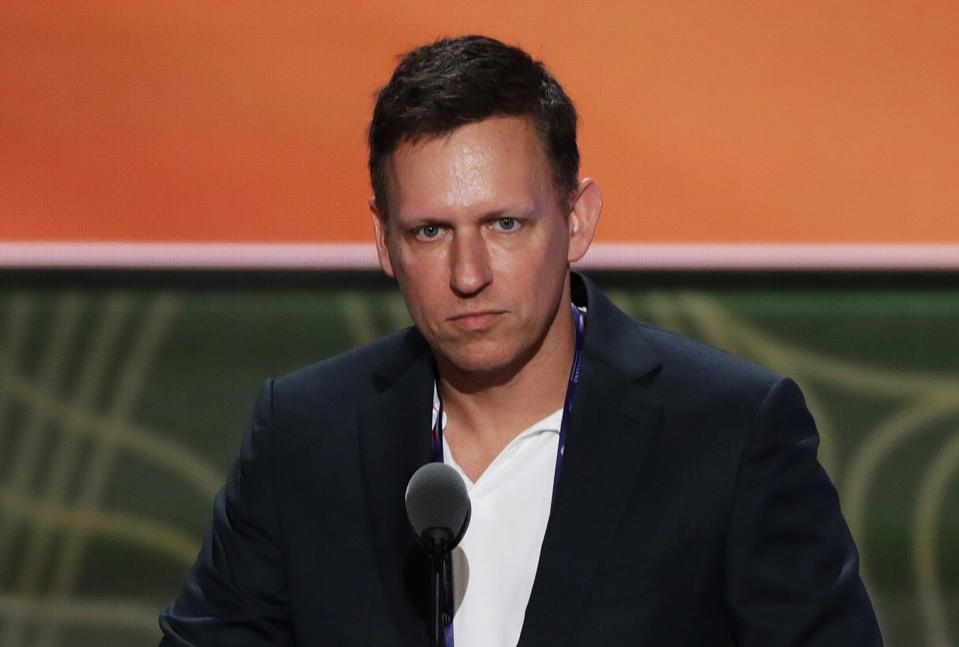 Peter Thiel, co-founder of PayPal and a vocal supporter of President Donald Trump