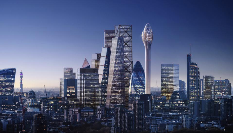 The design for the Tulip rejected by London's mayor