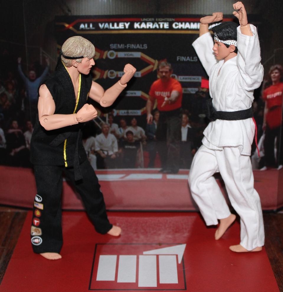 karate kid figures