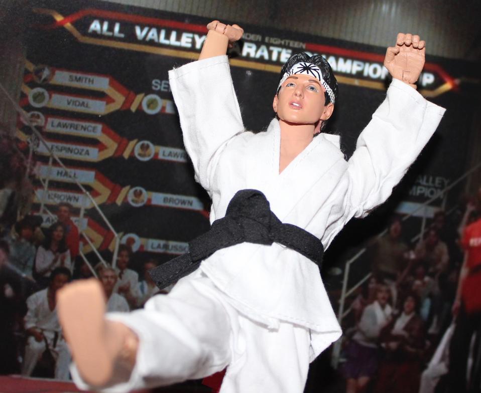 karate kid crane style