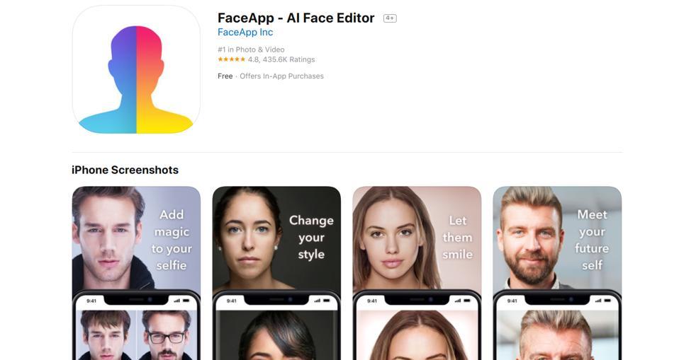 FaceApp for iOS