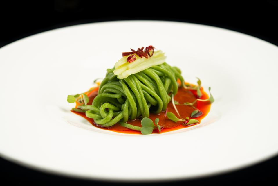 DaDong's cold avocado noodles