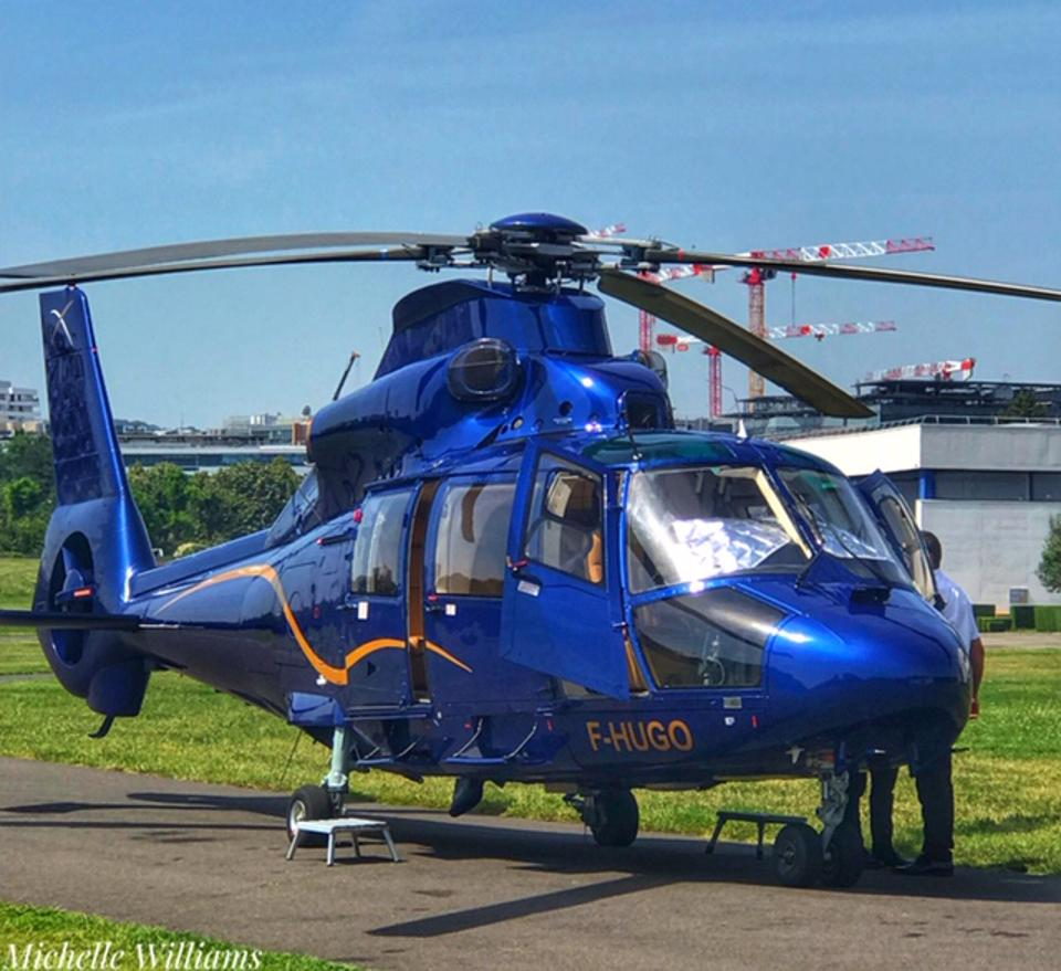 AB Corporate Aviation provides helicopter rides from Paris to Champagne in luxury.