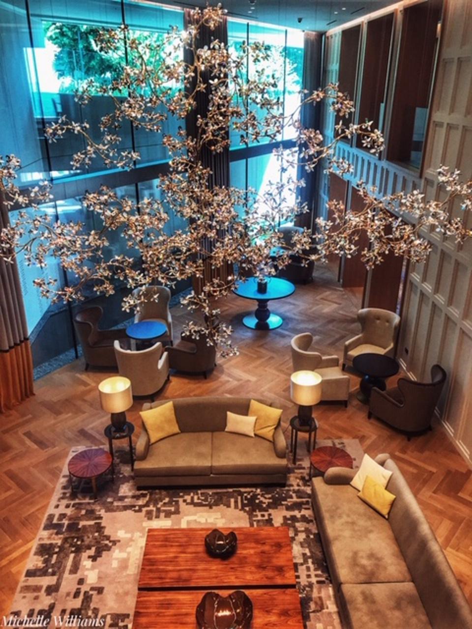Royal Champagne lobby