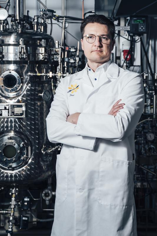 Image of Dr Pasi Vainikka, Founder and CEO of Solar Foods