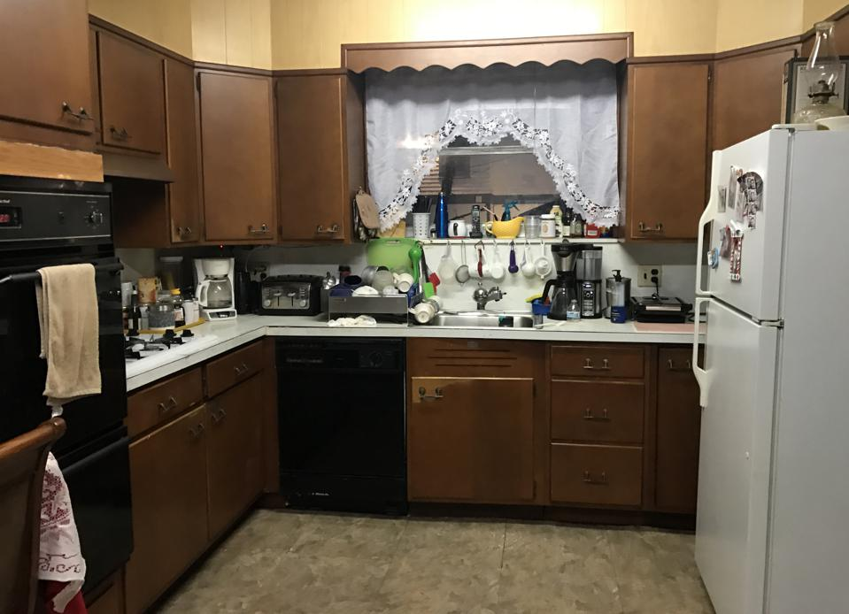 Sweeten kitchen before photo