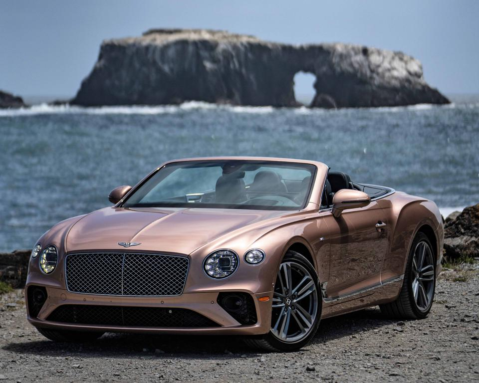 Bentley Continental GT Convertible, in Rose Gold