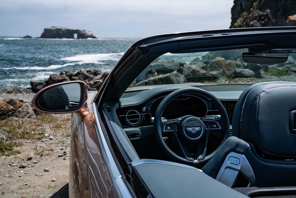 Bentley V8-powered Continental GT Convertible