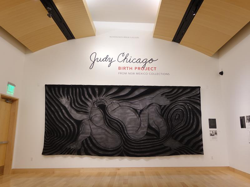 Judy Chicago Brings 'The Birth Project' Home To New Mexico