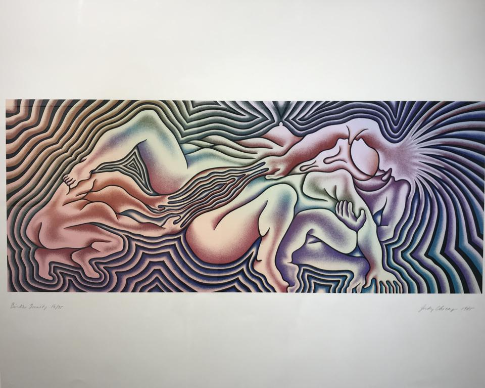 Judy Chicago 'The Birth Project,' installation view at The Harwood Museum of Art in Taos, New Mexico.