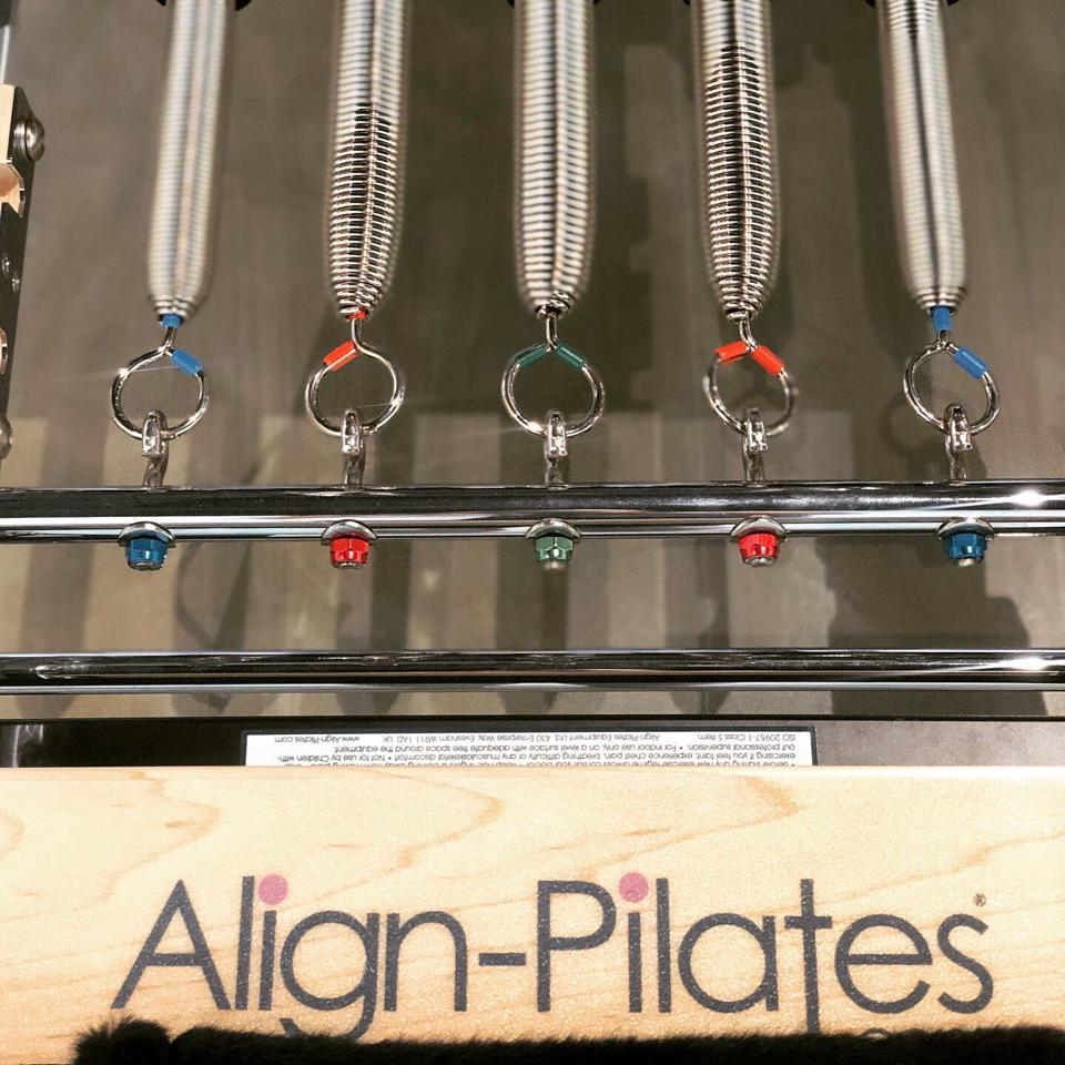 Align Pilates equipment is anchored on user safety and instructor convenience.