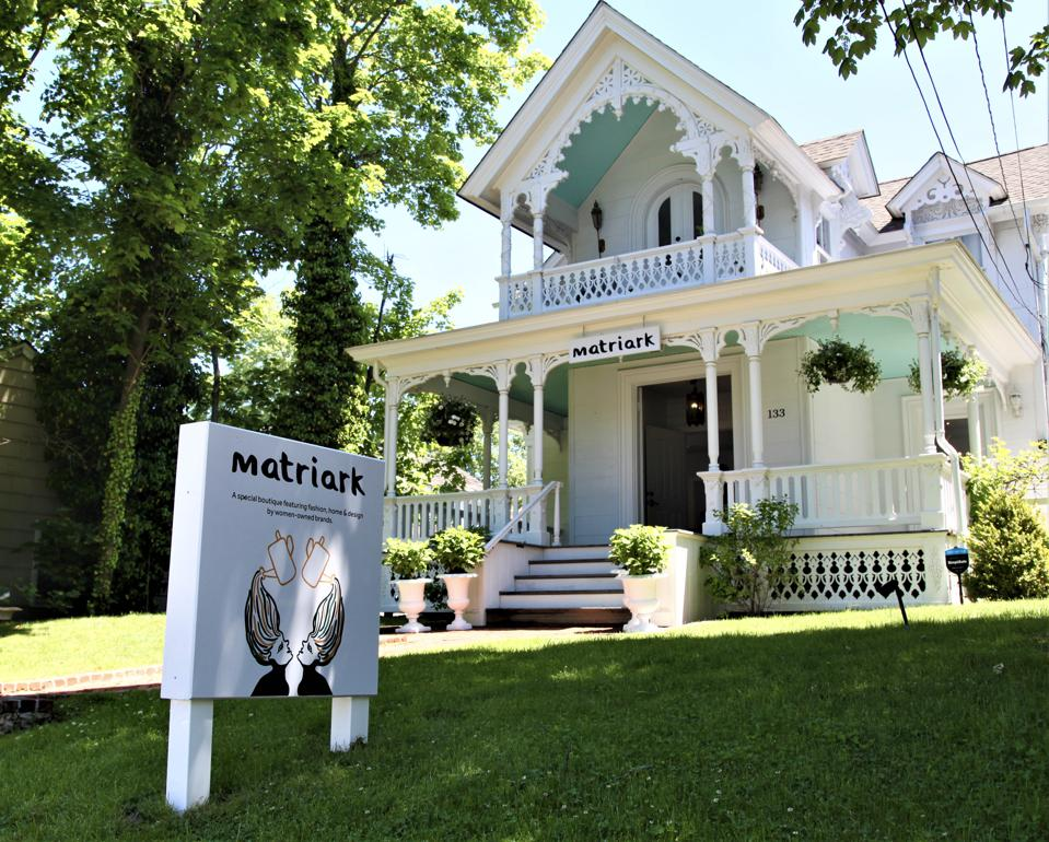 A new retail concept, Matriark, occupies the famed Gingerbread House on Sag Harbor and is now home to some of the most inspiring female founded and ran lifestyle labels.