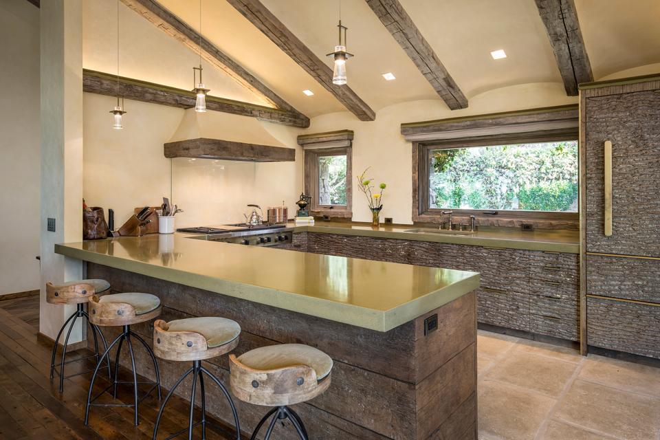 SevenCovesCarmel South Cottage Kitchen