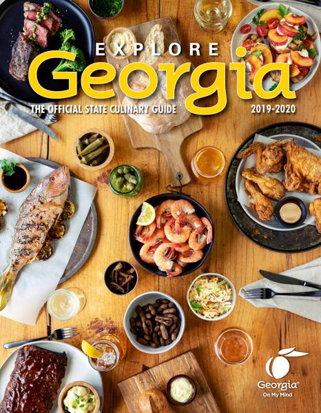 Sweet Tea And Georgia Eats: Latest Georgia Culinary Guide Just Released And It's Packed With Flavor And Fun