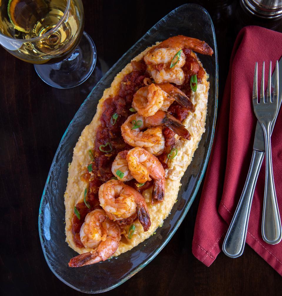 Brasstown Valley Resort shrimp and grits