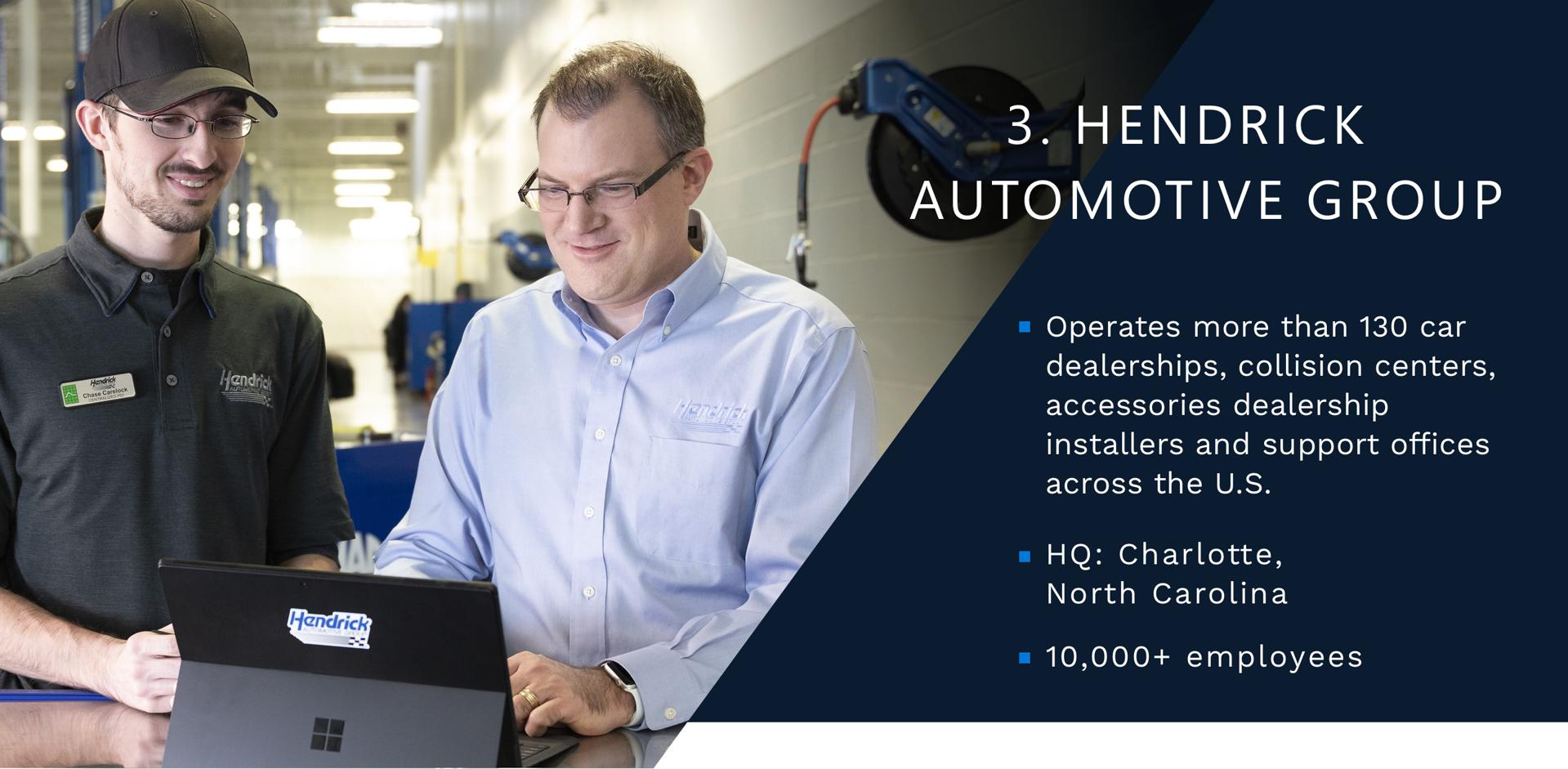 3 - Hendrick Automotive Group