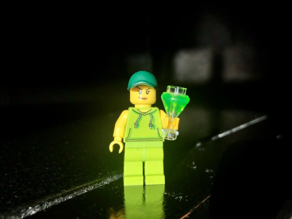 LEGO mini-fig at SDCC