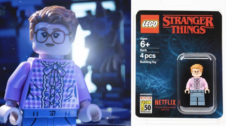 barb stranger things LEGO mini-fig