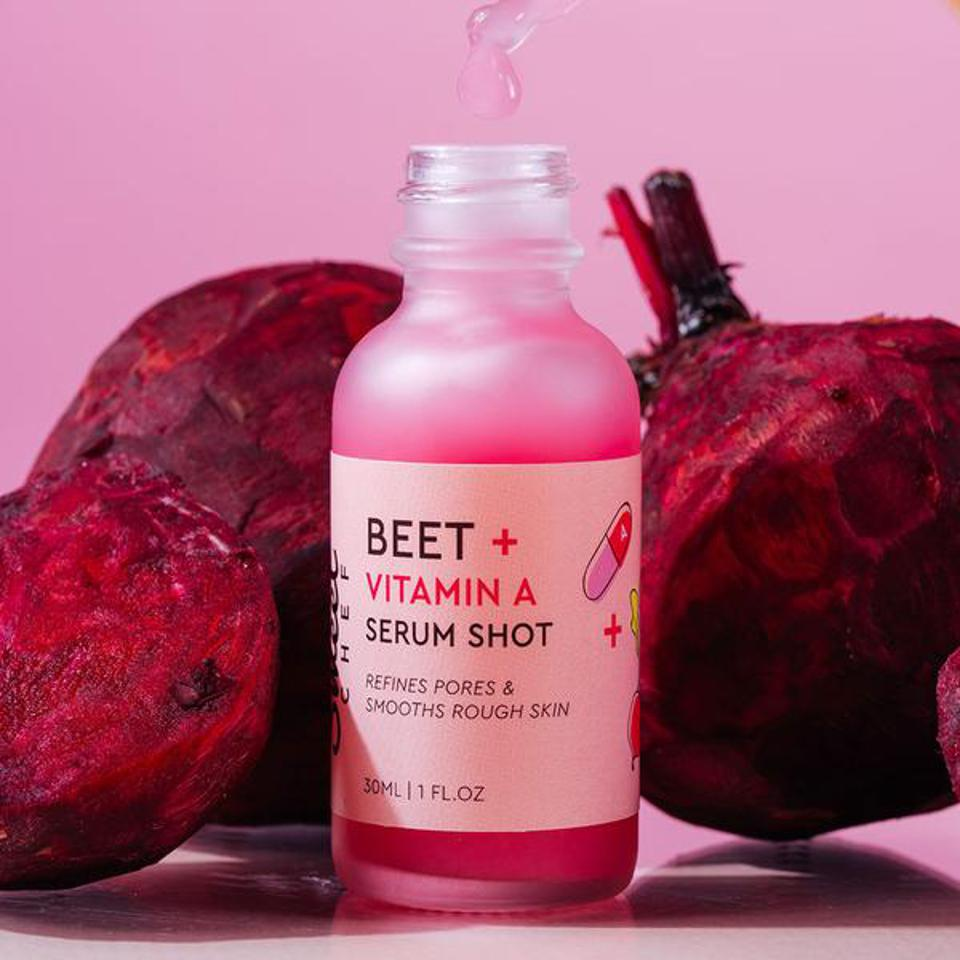 Beet and Vitamin A Serum Shot from SWEET CHEF SKINCARE