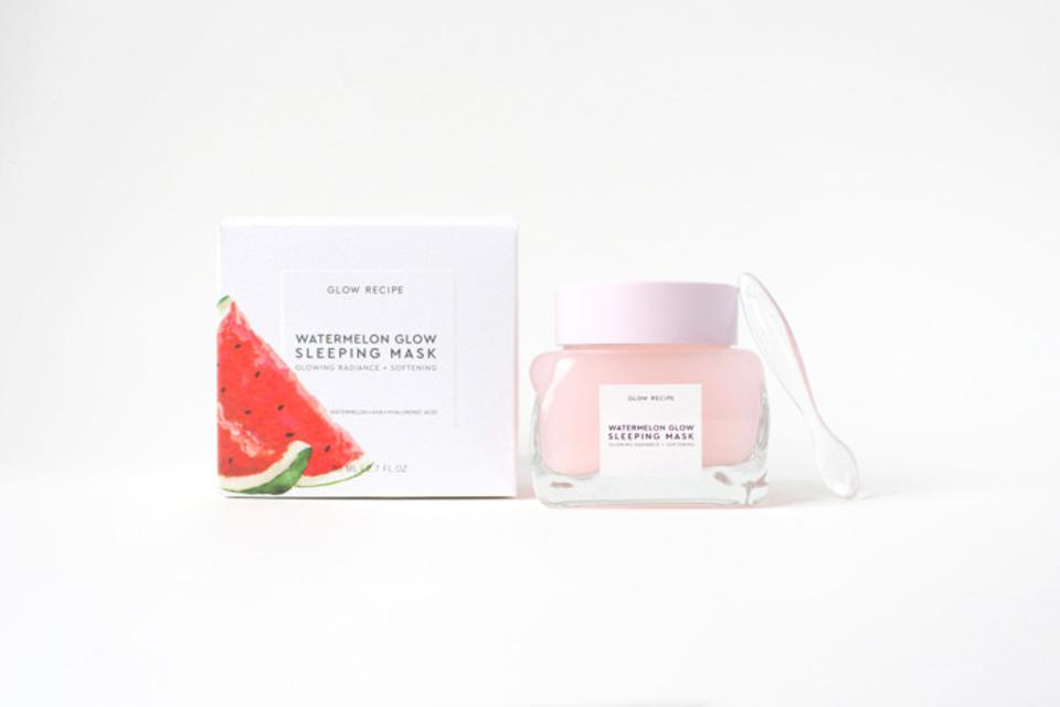 Watermelon Glow Sleeping Mask from GLOW RECIPE