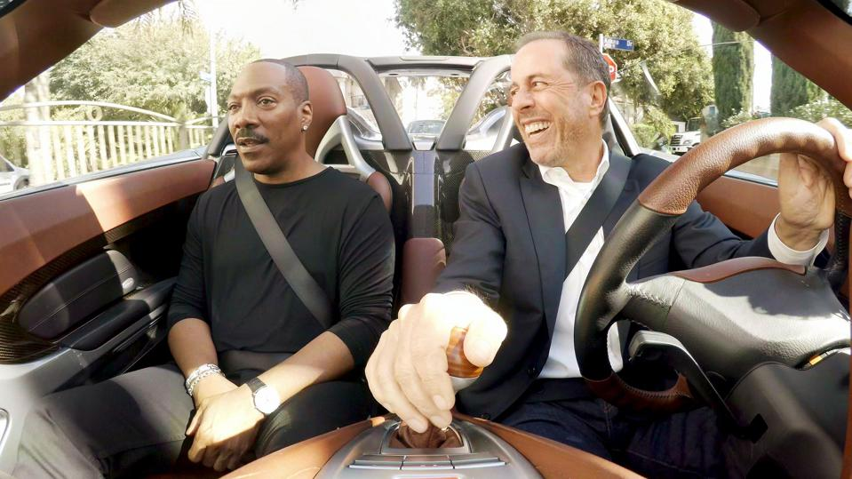 Eddie Murphy and Jerry Seinfeld drive around and talk comedy.