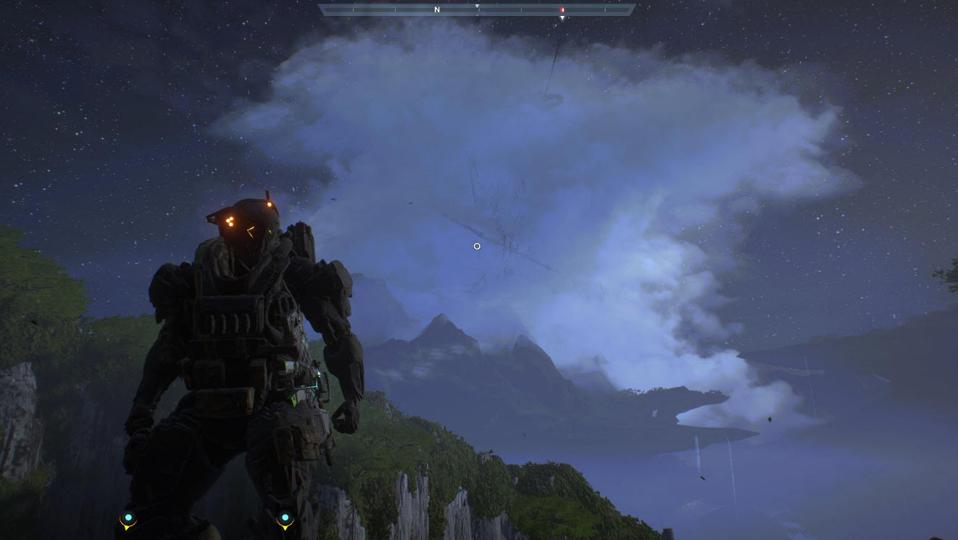 Log Into 'Anthem' Right Now To See The Giant Floating