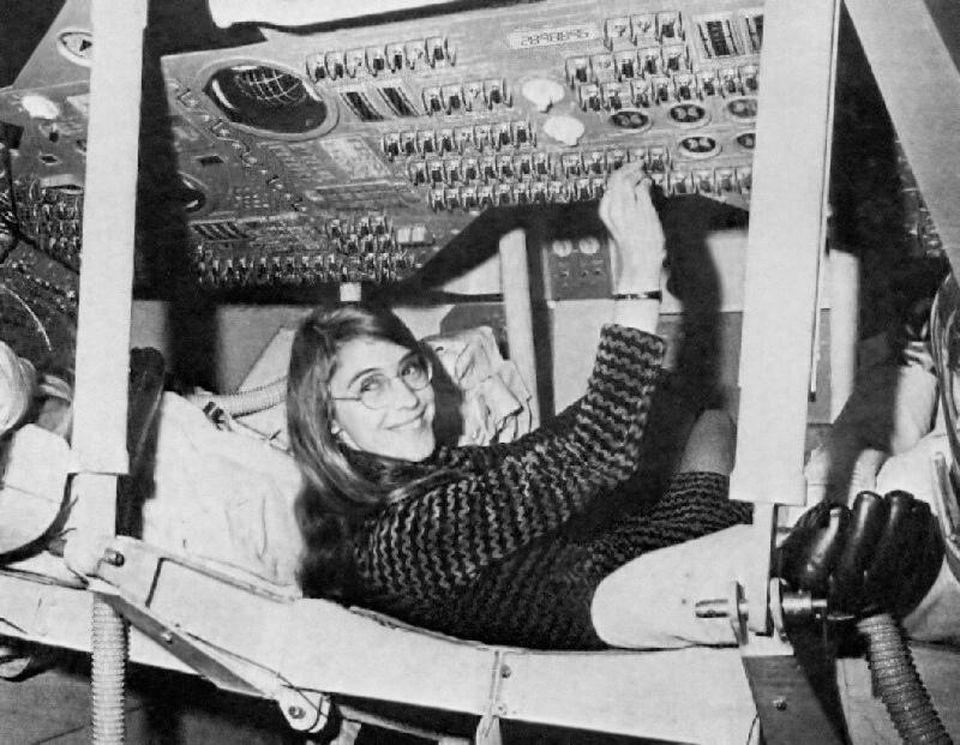 Margaret Hamilton led the team that developed Apollo's in-flight software